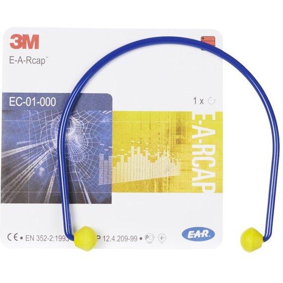 blau-gelber Bügelgehörschützer EAR CAPS von 3M™