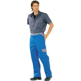 Planam - Multinormhose Major Protect 5220, kornblau/grau, 54