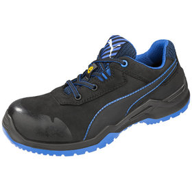 Puma Safety - Halbschuh Argon Blue Low, DIN EN ISO 20345 S3, schwarz, 42