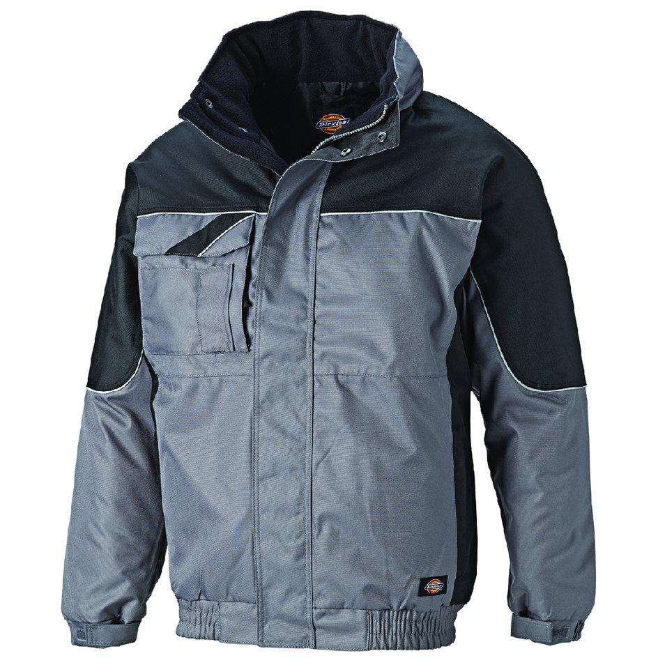 Dickies Herren-Jacke Industry 260 Grau//Schwarz