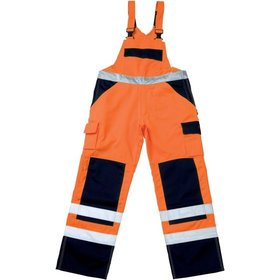 MASCOT® - Warnschutz-Latzhose  Barras 07169-860, orange/anthrazit, C54