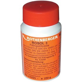 ROTHENBERGER - Fittings-Lötpaste Rosol3 250g Flasche