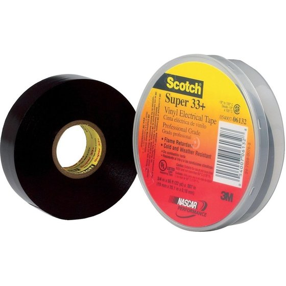 3M™ Super 33+ Isolierband 19mmx20m schwarz