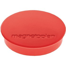 magnetoplan - Magnet D30mm VE10 Haftkraft 700 g rot