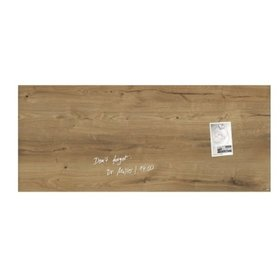 sigel® - Magnetboard artverum GL247 1.300x550x15mm Glas Natural-Wood