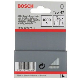 Bosch - Tackernagel Typ 47, 1,8 x 1,27 x 19 mm, 1000er-Pack