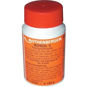 ROTHENBERGER Fittings-Lötpaste Rosol3 250g Flasche
