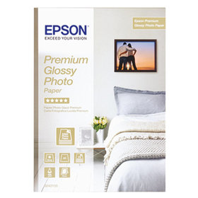 EPSON® - Fotopapier Premium Glossy C13S042155 DIN A4 ws 15 Bl./Pack.