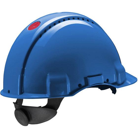 Blauer Schutzhelm Peltor G300 von 3M