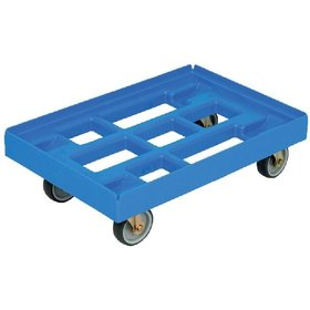 DURABLE - Transportroller 610x410mm blau, m. 4 LR.