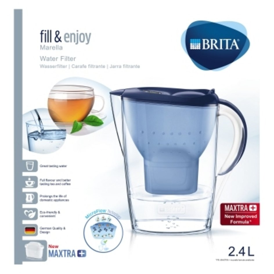 blau Brita Wasserfilter Aluna Cool Maxtra