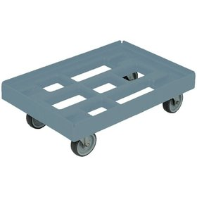 DURABLE - Transportroller mit 4 Lenkrollen 610x410mm grau
