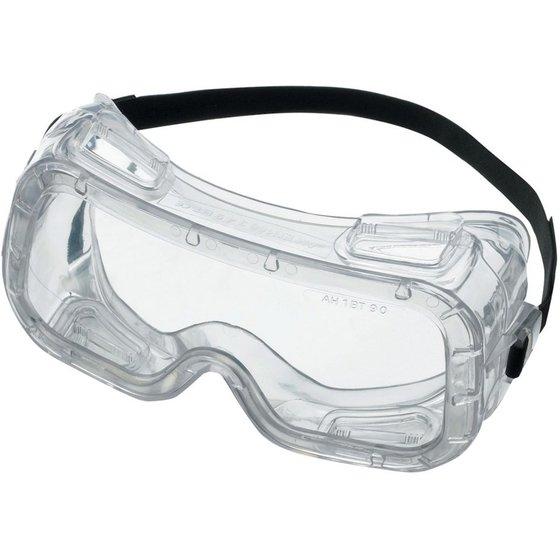 Vollsichtbrille mit klarem Sichtfeld und