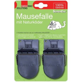 SWISSINNO SOLUTIONS - Mausefalle Supercat 2er Swissinno Soluti