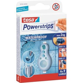 tesa® Powerstrips Waterproof Large Inh. 6 Stück