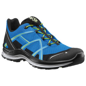 Haix - Halbschuh BLACK EAGLE Adventure 2.1 T low/blue-citrus, blau/grün, Größe UK 8.0 / EU 42