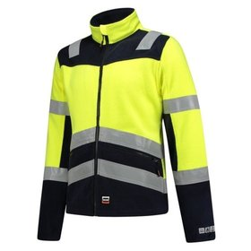 Tricorp - Fleecejacke Multinorm Bicolor 403013 Fluor Yellow-Ink Gr. XL