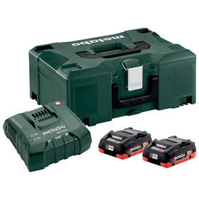 metabo® - Basis-Set 2 x LiHD 4.0 Ah + Metaloc (685130000)