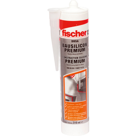 fischer® - Bausilicon Premium DBSA 310 ml AN anthrazit