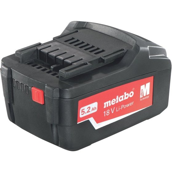 metabo®  Basic-Set 3 x 5.2 Ah + ML