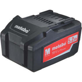 metabo® - Akkupack 18 V/5,2 Ah, Li-Power, Metabo