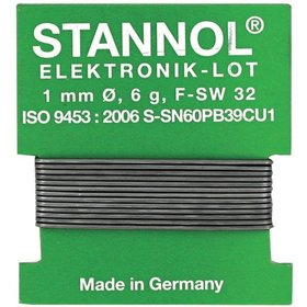 STANNOL - Elektroniklot Nr.640106 1,0mm