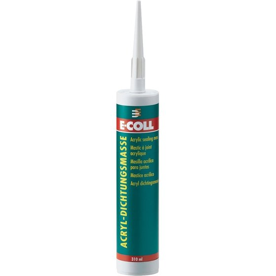 310 ml Kartusche graues Acryl von E-COLL