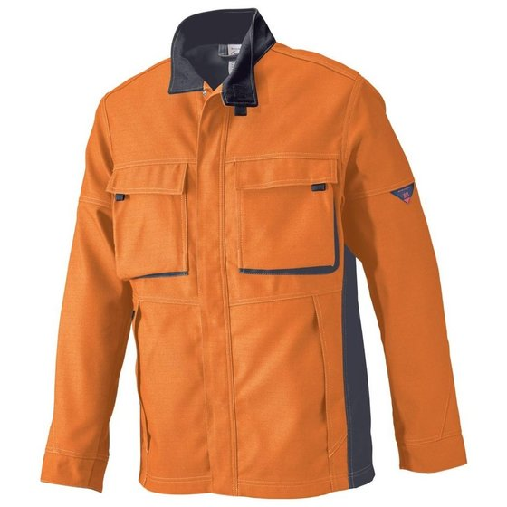 BP(R) - Arbeitsjacke 2612 833 orange-anthrazit- Grösse 44-46n