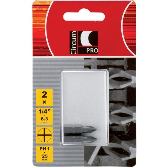 CircumPRO Standard-Bit SB PH 3x25mm 2er Pack