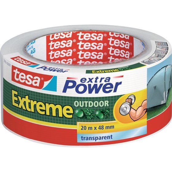 tesa® extra Power Extreme 20m x 48mm Outdoor transp
