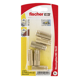 fischer® - Messingdübel MS 12 x 37 K SB-Karte