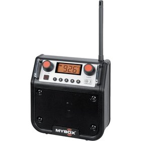PERFECTPRO® Baustellenradio MyBox MB-BLACK