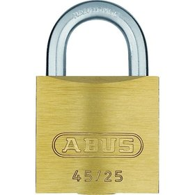 ABUS - AV-Zylindervorhangschloss 45/30, Messing massiv