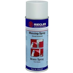 RIEGLER® - RIEGLER Messing-Spray, Temperatur max. 300 °C, 400 ml