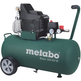 metabo® - Kolbenkompressor (mobil) Basic 250-50 W, Metabo