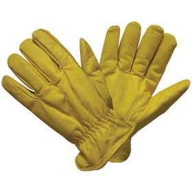 Hase Safety Gloves - Lederhandschuh DRIVER-SUPER WINTER, Kat. I, gelb, Größe 10