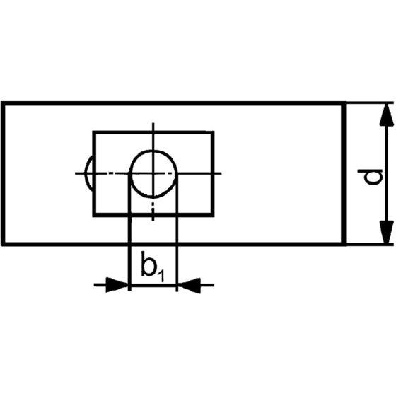 Format Schraube für T-Nuten DIN 787 M12x14x 50mm kpl.