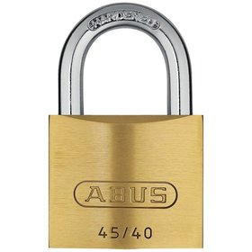 ABUS - AV-Vorhangschloss-Set 45/40 Twins B/SB, Messing massiv