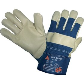 Hase Safety Gloves - Mechanischer Lederhandschuh ULM - SUPER, Kat. II, natur, 10