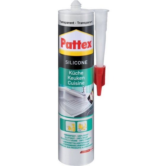 Pattex® Küchen Silikon 300 ml, transparent