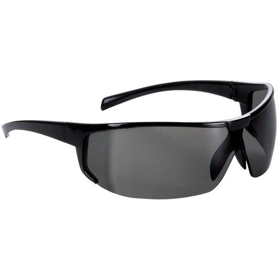 schwarze Schutzbrille mit Bügeln von Fortis