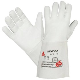 Hase Safety Gloves - Sicherheitshandschuh Mexico-Z-long, Kat. II, grau, 10