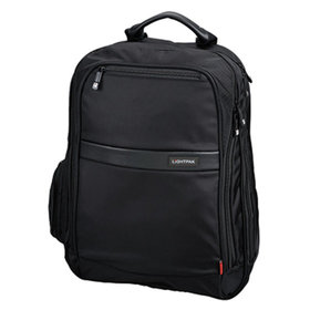 LIGHTPAK® - LIGHTPAK Notebookrucksack Echo1 Executive Line 46103 Nylon schwarz