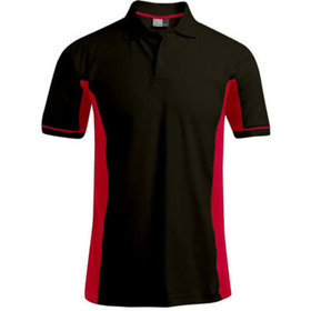 Men's Function Contrast Polo Gr. XXL