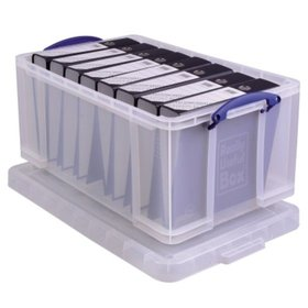 Really Useful Box® - Really Useful Box Aufbewahrungsbox 64C 44x31x71cm 64l transparent