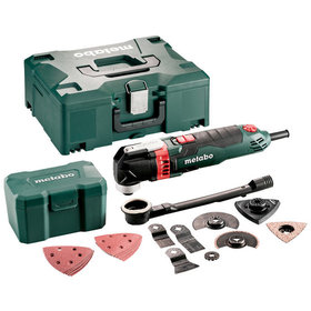 metabo® - Multitool MT 400 Quick Set (601406700), für Holz Fliesen, MetaLoc