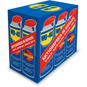 WD-40® - Multifunktionsprodukt Smart Straw 6x500ml