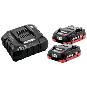 metabo® - Akku Basis-Set  2x18,0 V 4,0 Ah
