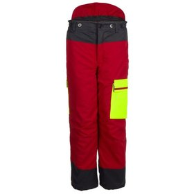 watex - Bundhose Forest Jack Red, rot/anthrazit/leucht-gelb, Größe 54/56