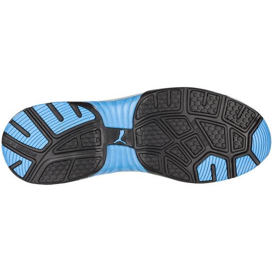 PUMA® - Halbschuh Fuse Motion Blue Wns Low, DIN EN ISO 20345 S1, schwarz, W F, 39